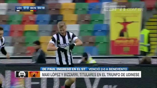 Benevento volta a perder, agora para a Udinese, e soma 1 ponto em 16 partidas