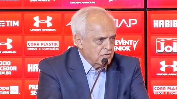 Leco diz que contrato de Ricardo Gomes é por tempo indeterminado: 'Respeito e confiança'