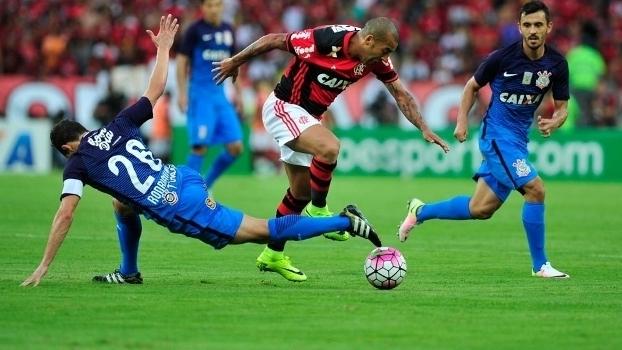 Veja os gols do empate entre Flamengo e Corinthians por 2 a 2