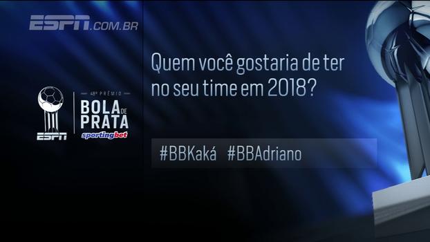 Kaká e Adriano de volta? Hofman não crê no atacante: 'Não vai voltar a jogar em alto nível'