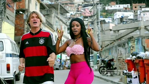 Fã de Rivaldo e Alex, MC Gringo é o alemão mais carioca do Rio de Janeiro
