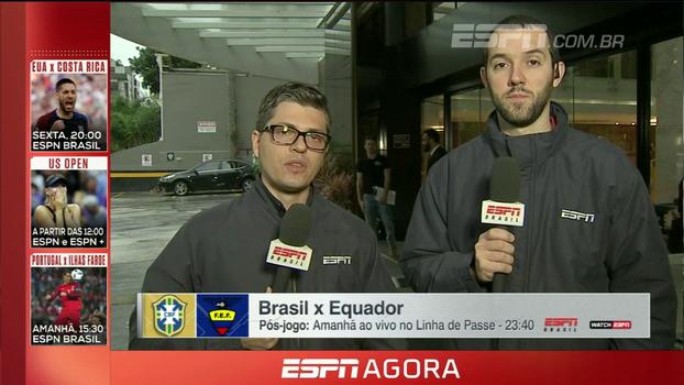 Com Willian e sem Coutinho; Ortega e Hofman trazem as informações da seleção brasileira
