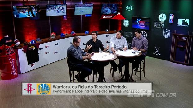 Paulo Antunes vê relaxamento natural dos Warriors: 'Acostumado com jogo 7 das finais, é difícil jogar meio dia contra o Suns'