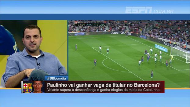Zé Elias cita diferença em posição de Paulinho na seleção brasileira e Barcelona