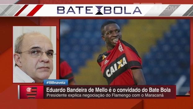 Presidente do Fla nega negociação com Barça por Vinicius Jr: 'Conversa para tumultuar o ambiente'