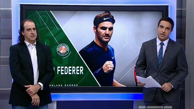Meligeni avalia anúncio de Federer em não jogar o Aberto da França: 'Fez a decisão certa'