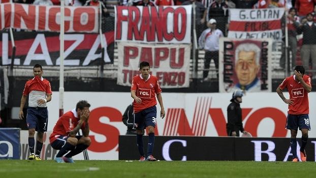 Veja como foi a vitória do River Plate, que deixou o Independiente perto de inédito rebaixamento