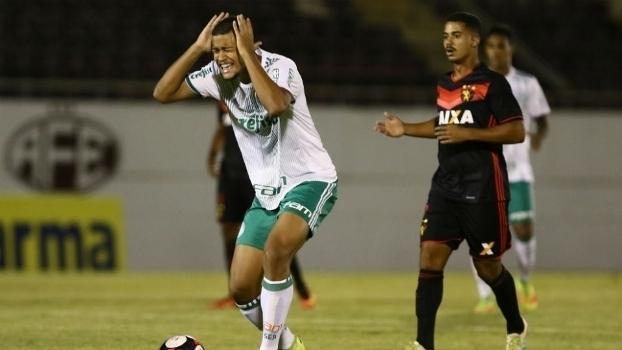 Veja o gol da vitória do Sport sobre o Palmeiras por 1 a 0