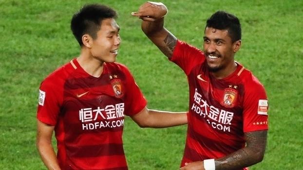Chinês: Gols de Guangzhou Evergrande 3 x 2 Shanghai Shenhua