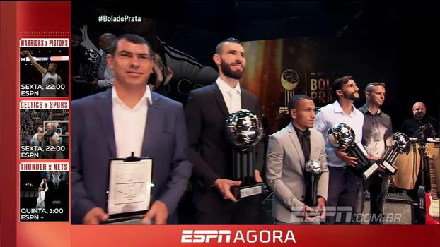 Da inspiração da seleção de 82 aos astros de hoje: veja como foi o Prêmio ESPN Bola de Prata Sportingbet