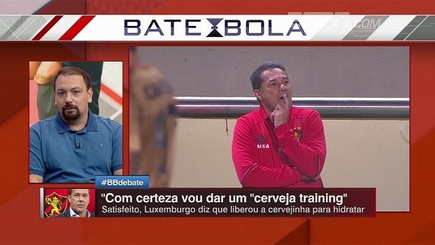 Alê Oliveira, sobre Luxemburgo no Sport: 'Tenho medo que ele tenha perdido o Diego Souza'