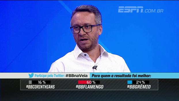 Maurício Barros vê São Paulo x Corinthians como jogo mais importante da rodada; Calçade: 'Os dois precisam jogar melhor'