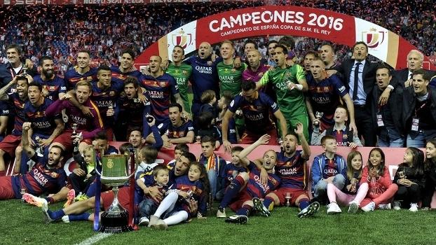 Copa do Rei (final): Melhores momentos de Barcelona 2 x 0 Sevilla (prorrogação)