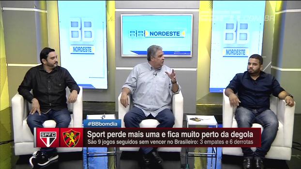 Briga para não cair ou vaga na Libertadores? BB Nordeste diz que foco do Sport no Brasileiro é contra a queda para Série B