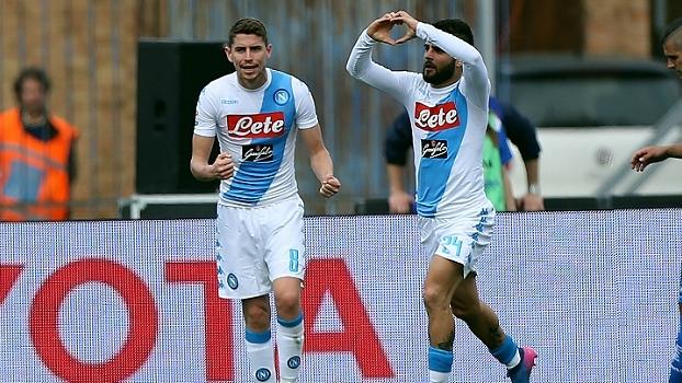 Com dois gols de Insigne, Napoli vence Empoli e assume vice-liderança do Italiano