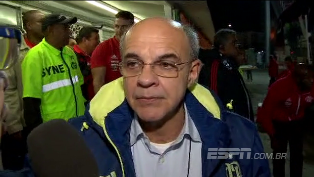 Bandeira de Mello fala sobre situação de Damião e comenta presença de Diego Alves: 'Veio torcer pelo Mengão'