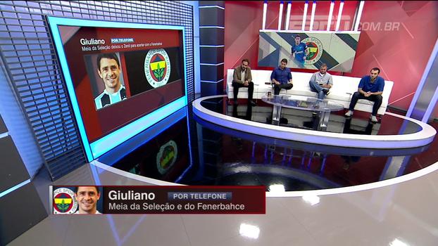 Giuliano diz em qual posição no campo pretende jogar no Fenerbahçe