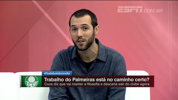 Hofman vê abatimento evidente no Palmeiras: 'Ou o Cuca muda o trabalho, ou fica fora da Libertadores'