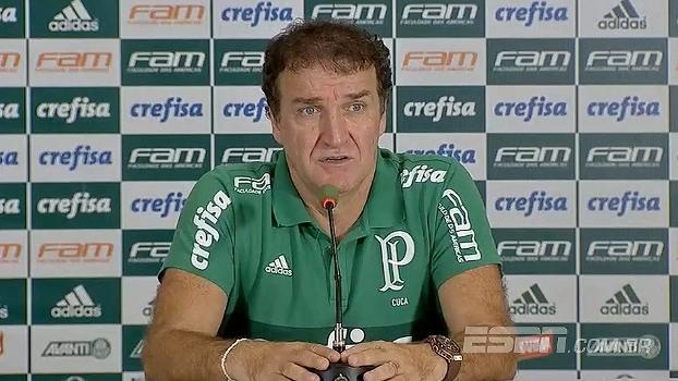 Cuca analisa postura da equipe e fala em comando do Palmeiras durante a partida: 'Jogamos muito bem'