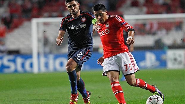 Champions League: Gols de Benfica 1 x 1 Olympiacos
