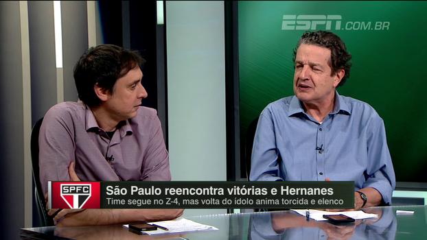 Juca analisa chegadas de Hernanes e Diego Alves e destaca sequência de volante do São Paulo: 'Acertaram a mão com ele'