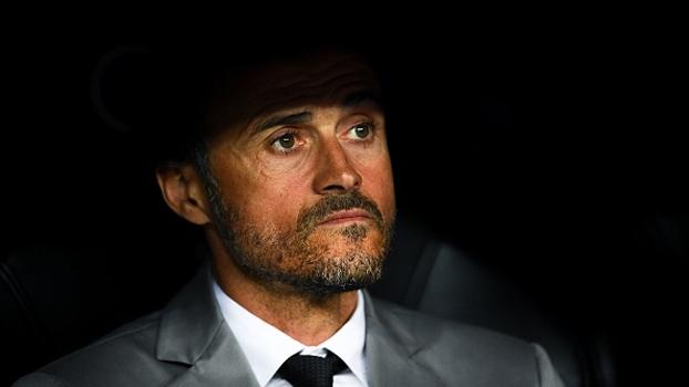 Luis Enrique fala em 'partida especial' contra o rival Espanyol