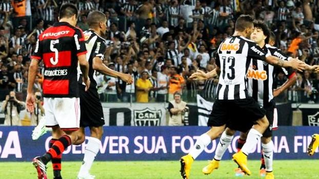 Copa do Brasil: Gols de Atlético-MG 4 x 1 Flamengo