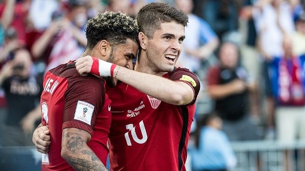 Estados Unidos vencem e colam na Costa Rica pelas Eliminatórias para a Copa