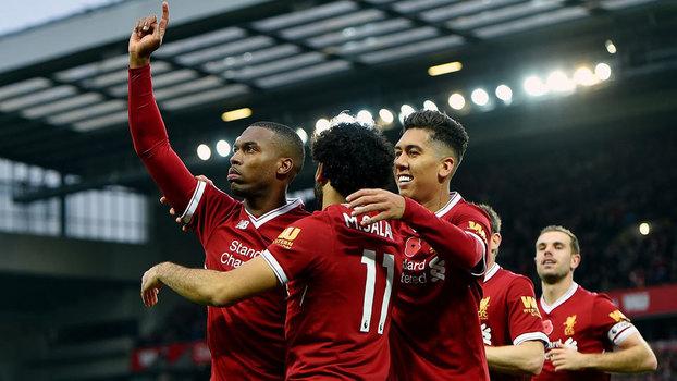 Premier League: Gols de Liverpool 3 x 0 Huddersfield