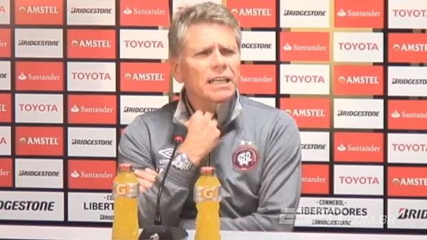 Autuori assume responsabilidade por derrota e parabeniza San Lorenzo: 'Mereceu ganhar'