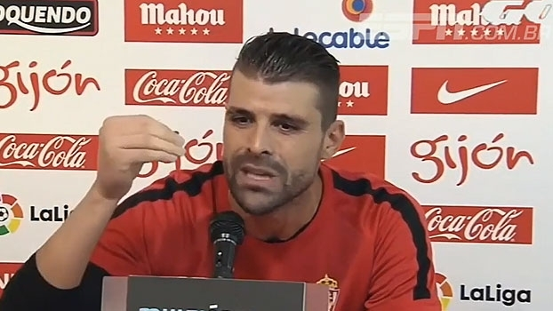 Goleiro do Gijón detona jornalista por informações erradas: 'Você é um idiota!'