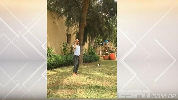 Sem moral? Celebridade da internet manda vídeo ao 'Bate Bola' cobrando faltas