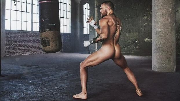 McGregor fica nu para a 'ESPN Body Issue' e fala sobre suas estrategias de luta