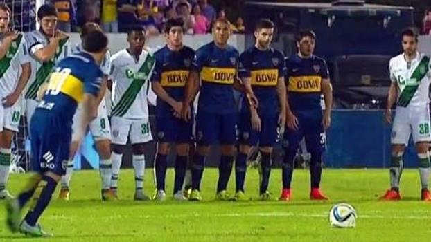 Copa Argentina: Gols de Boca Juniors 3 x 0 Banfield