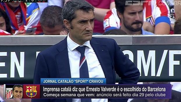 Athletic Bilbao confirma saída de Ernesto Valverde; imprensa catalã diz que Barcelona é o destino