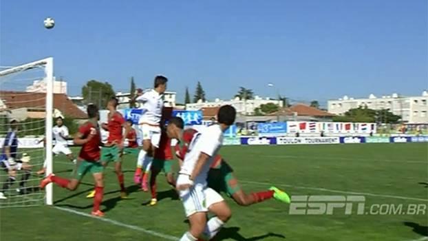 Marrocos vence México e garante vaga na final contra a França no Torneio sub-21 de Toulon
