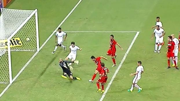 Assista aos gols do empate por 1 a 1 entre Sport e Internacional