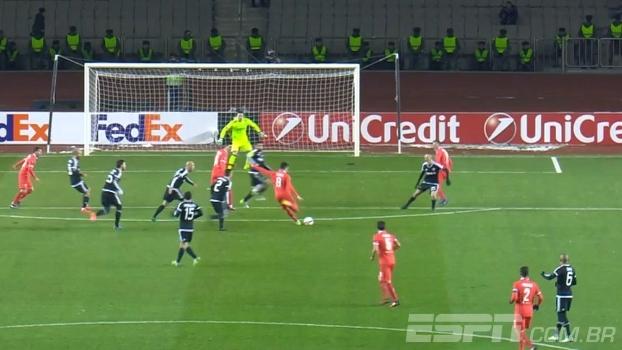 Fiorentina vence Qarabag no Azerbaijão e confirma classificação em primeiro no grupo J
