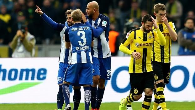 Bundesliga: Melhores momentos de Hertha Berlim 2 x 1 Borussia Dortmund