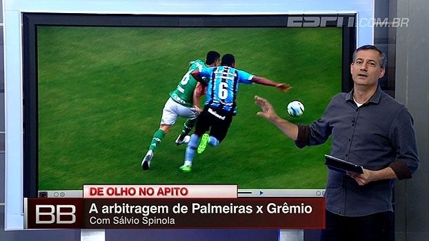 Pênalti para o Palmeiras? Canela de gremista sangrando? Sálvio analisa polêmicas de Palmeiras x Grêmio