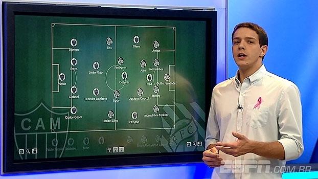 Apesar do placar, Rafa Oliveira elogia o Figueirense e vê Atlético-MG desorganizado: '3 a 0 é exagerado'