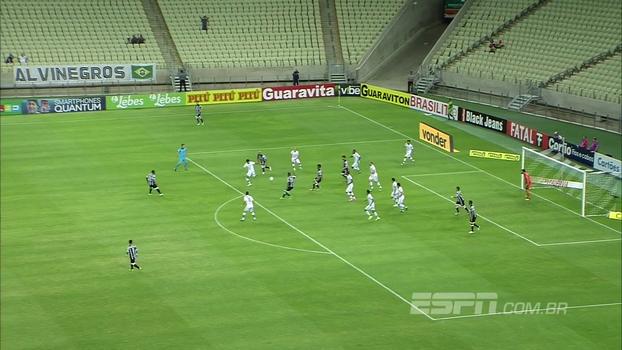 Veja os gols de Ceará 2 x 0 Juventude