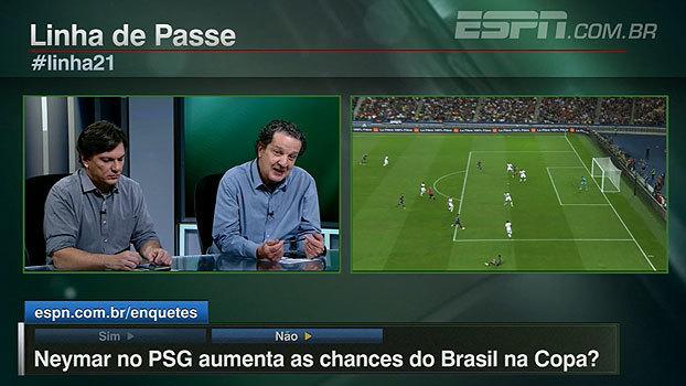 """Para Juca, seleção ganha com mudança de Neymar: 'Ele tem um time para chamar de """"seu"""". Ficou claro quem é que manda no PSG'"""