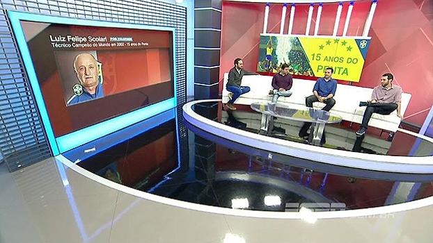 Felipão lembra de choro de Romário antes da Copa do Mundo de 2002 e admite: 'Quase me convenceu'