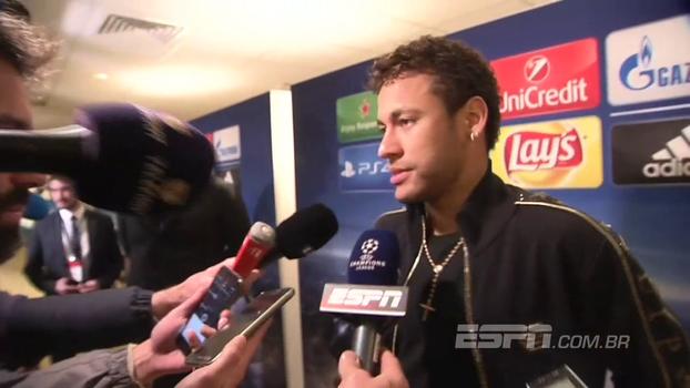 Após comparações do PSG com o Santos de 2010, Neymar minimiza e pede: 'Temos que continuar assim'