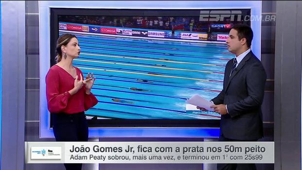 Flávia Delaroli comenta conquista de João Gomes Júnior: 'É uma prata com gosto de ouro'