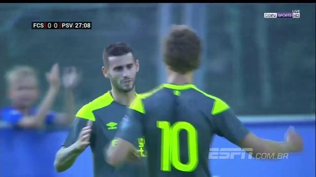 Com gol de uruguaio, PSV começa a pré-temporada com vitória magra contra time suíço