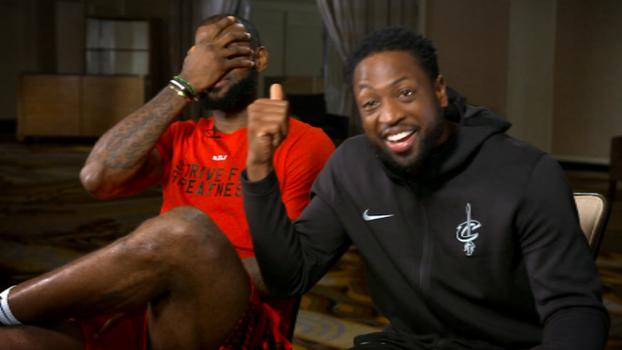 Não paga nem 3G! Wade 'entrega' LeBron como o mais pão-duro da NBA e arranca risadas