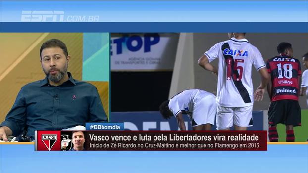 Efeito Zé Ricardo: Mario Marra analisa crescimento do Vasco no Brasileirão