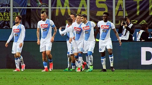 Italiano: Melhores momentos de Internazionale 0 x 1 Napoli